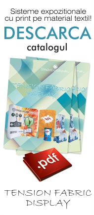 catalog tension fabric display